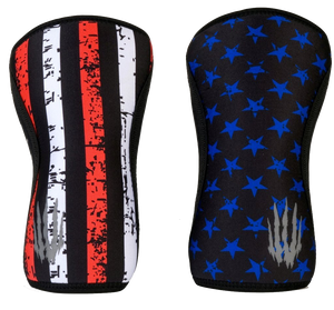 Bear KompleX Knee Sleeves - Stars-Knee Sleeves-The WOD Guys