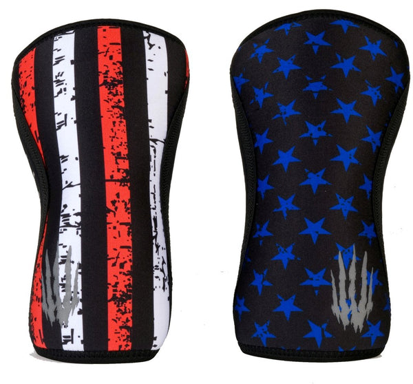 thewodguys-com - Bear KompleX Knee Sleeves - Stars & Stripes - Knee Sleeves