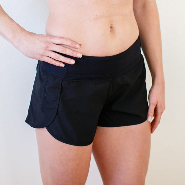 Free Flow Shorts (Black)