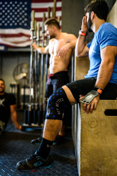 Bear KompleX Knee Sleeves - Stars & Stripes-Bear Komplex-The WOD Guys