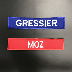 Name Patch Rectangular (Velcro)-TheWodGuys-The WOD Guys