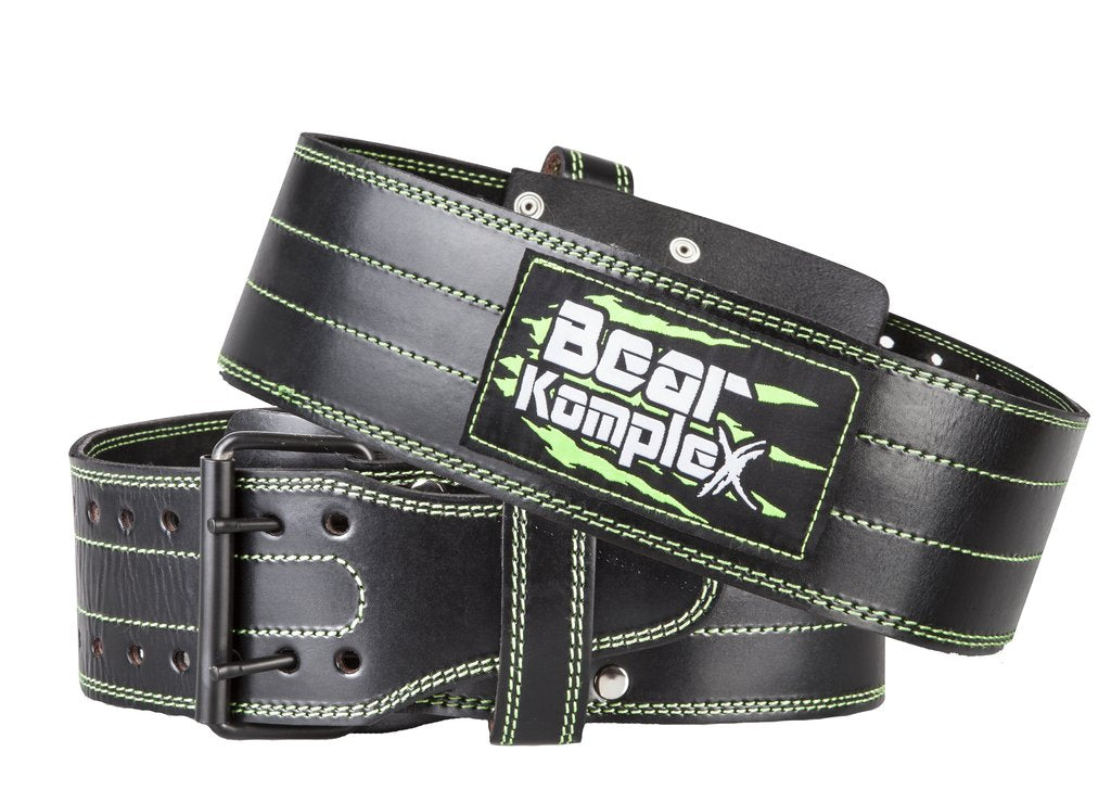 thewodguys-com - Leather Bear Komplex Buckle Belt - Belts
