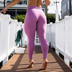Your Go To Leggings (Mauve)-BORN PRIMITIVE-The WOD Guys