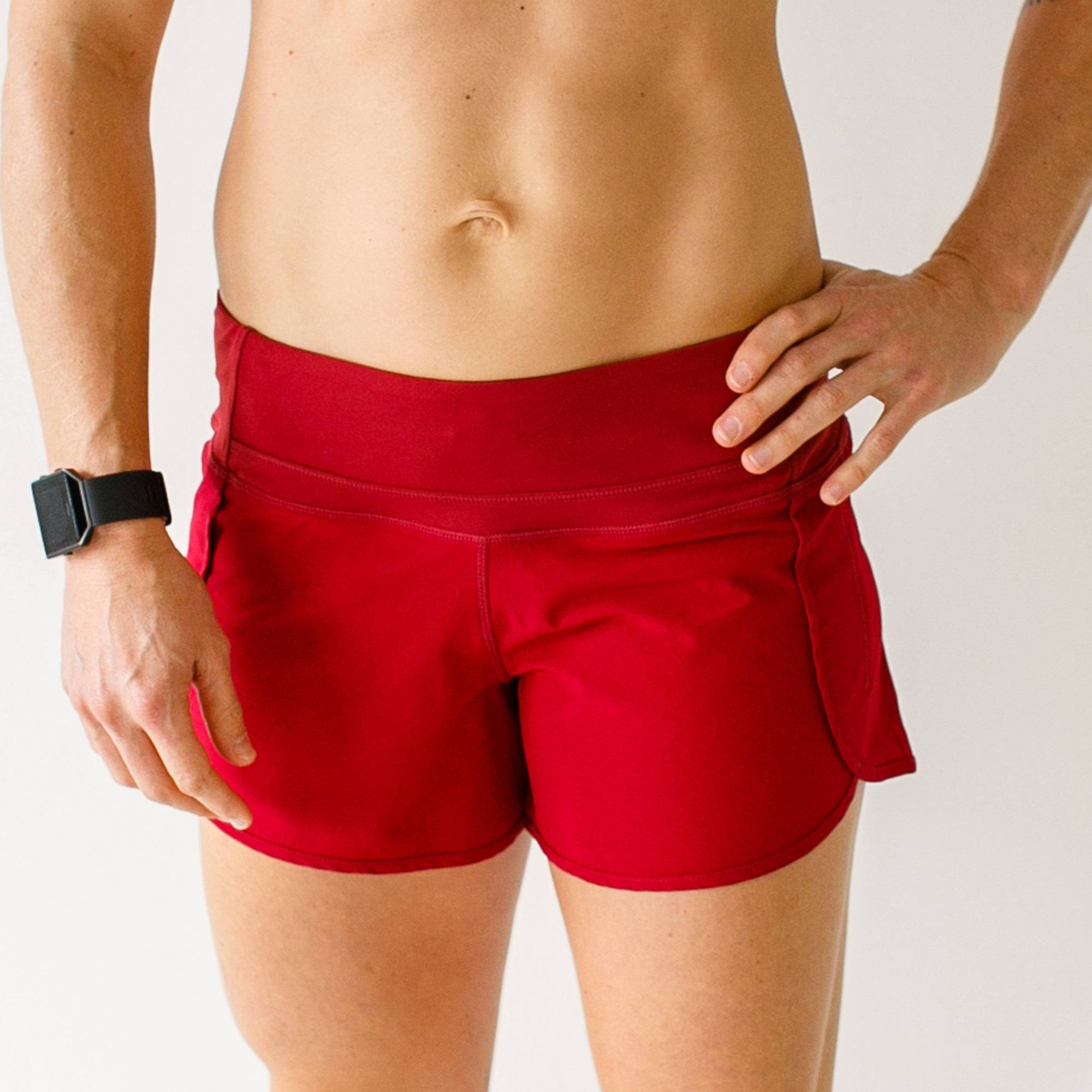 Free Flow Shorts (Red)