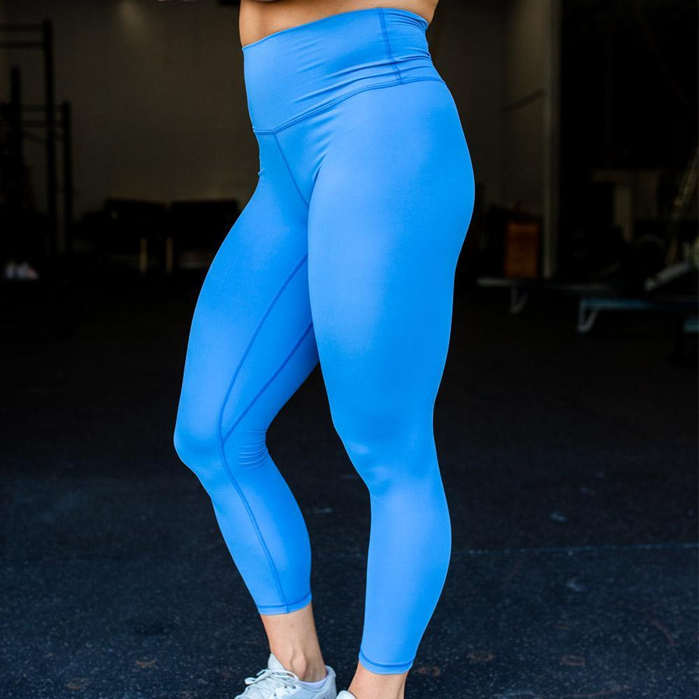 Your Go To Leggings (Cornflower)-BORN PRIMITIVE-The WOD Guys