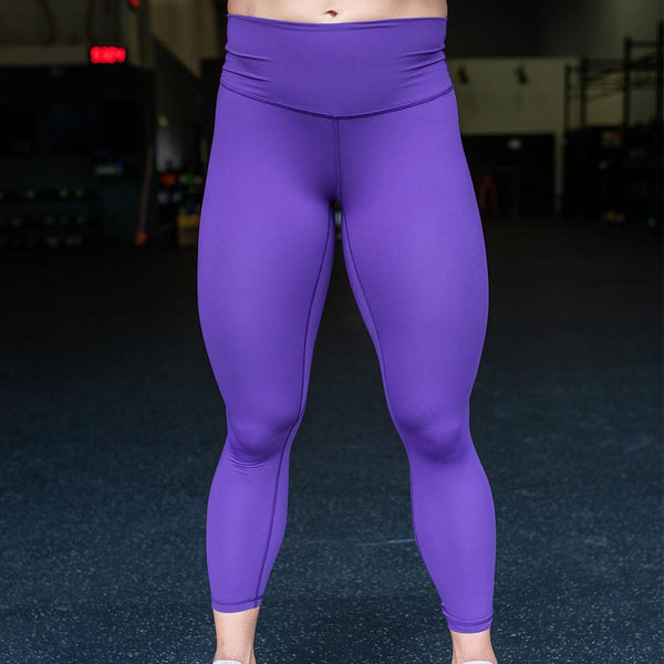 Your Go To Leggings (Violet)-BOOTY SHORT-The WOD Guys