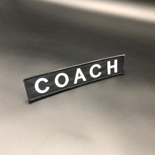 COACH (velcro)-Patch-The WOD Guys