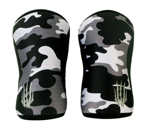 Bear KompleX Knee Sleeves Black Camo-Knee Sleeves-The WOD Guys