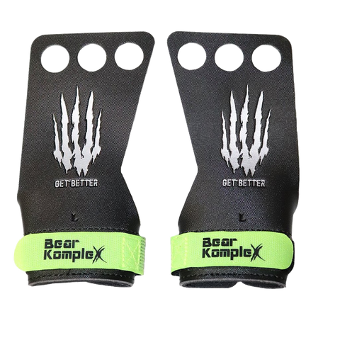 Bear KompleX Black Diamond 3 Hole Grips-Grips-The WOD Guys