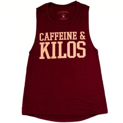 thewodguys-com - Caffeine & Kilos Women's Muscle Tank - Apparel
