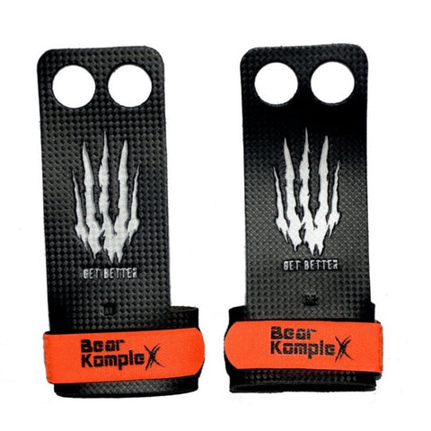 Bear KompleX: 2 Hole Carbon Grips - TheWodGuys