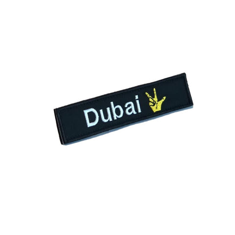 UAE Emirates Patches (Velcro)-TheWodGuys-The WOD Guys