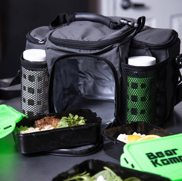 Meal Prep Bag with Food Containers-Accessories-The WOD Guys