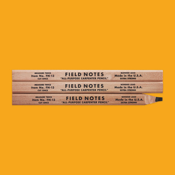 Field Notes Carpenter Pencil Pack