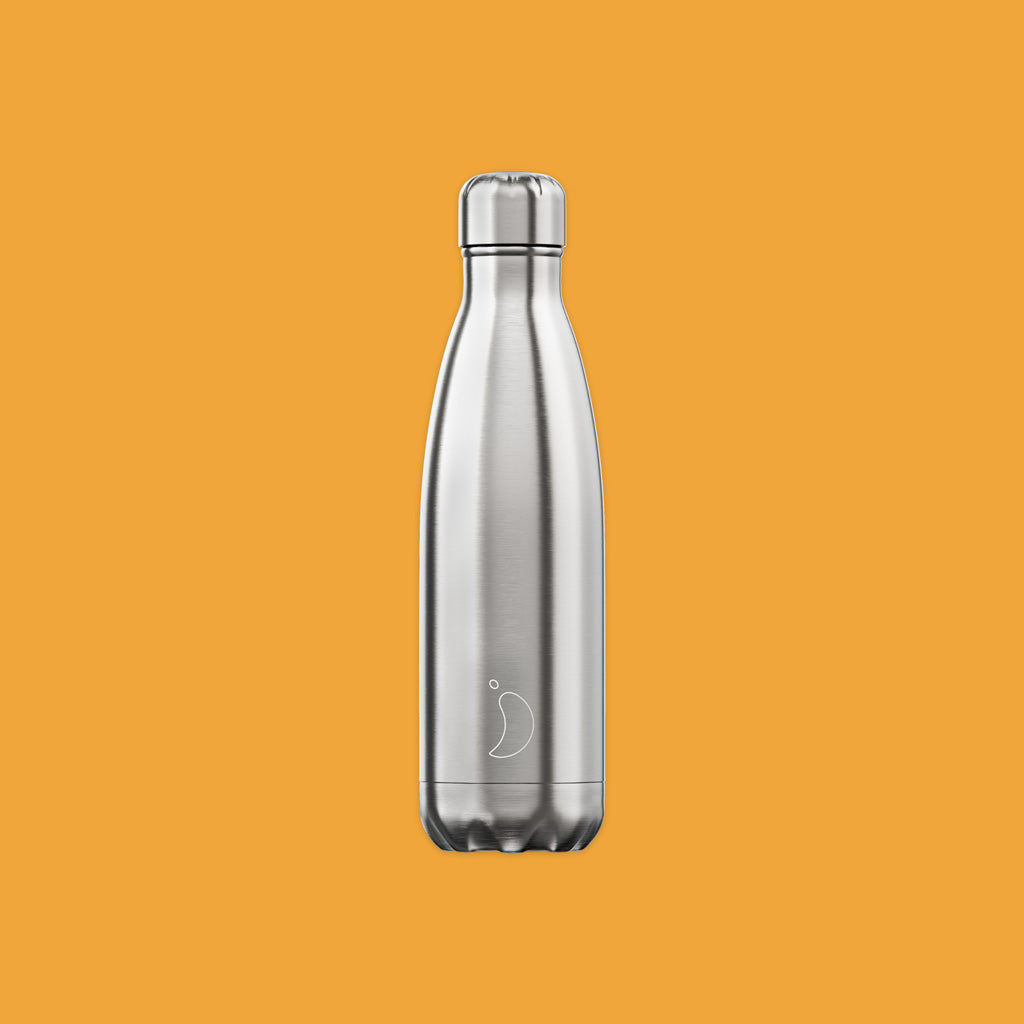 Chilly's 500ml Reusable Bottle Stainless Steel