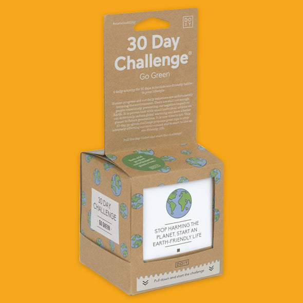 30 day challenge go green package