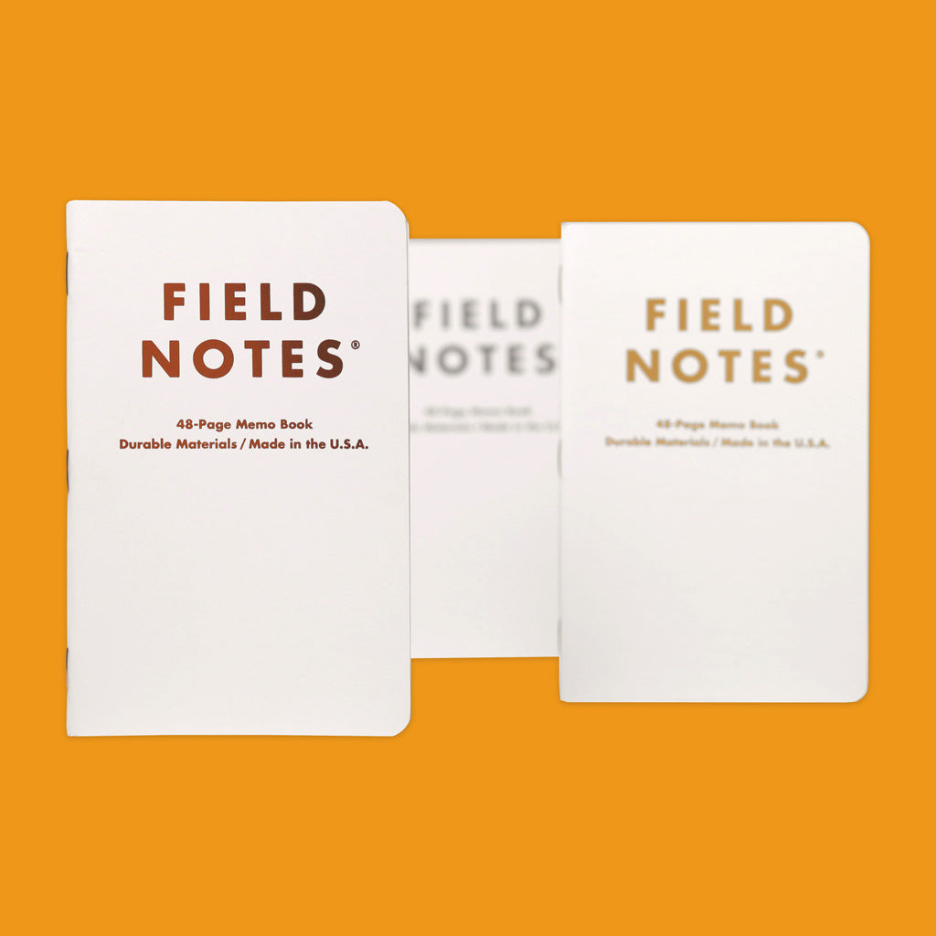 Field Notes Group Eleven Front Covers