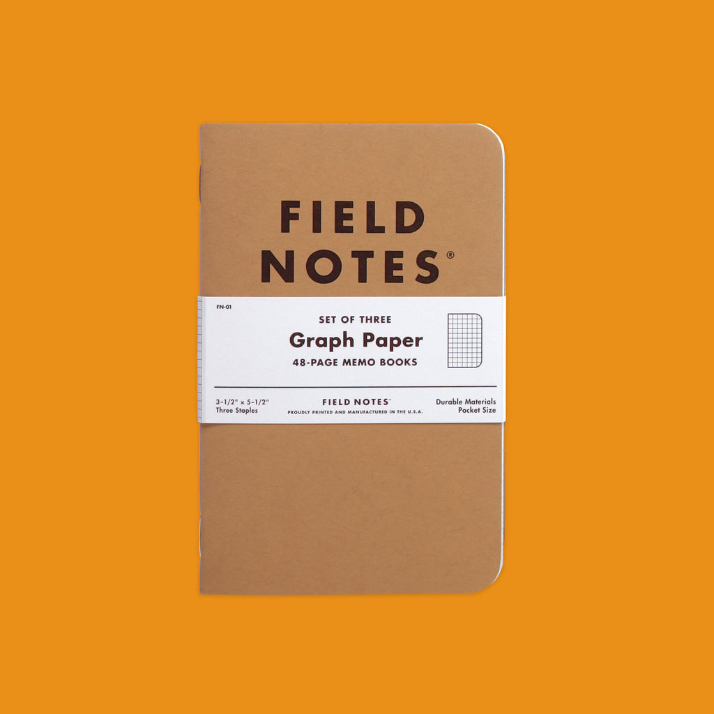 Field Notes Original Graph Pack