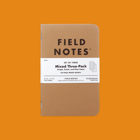 Field Notes Original 3-Pack Mix