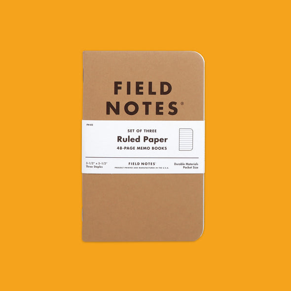 Field Notes Original Ruled Pack