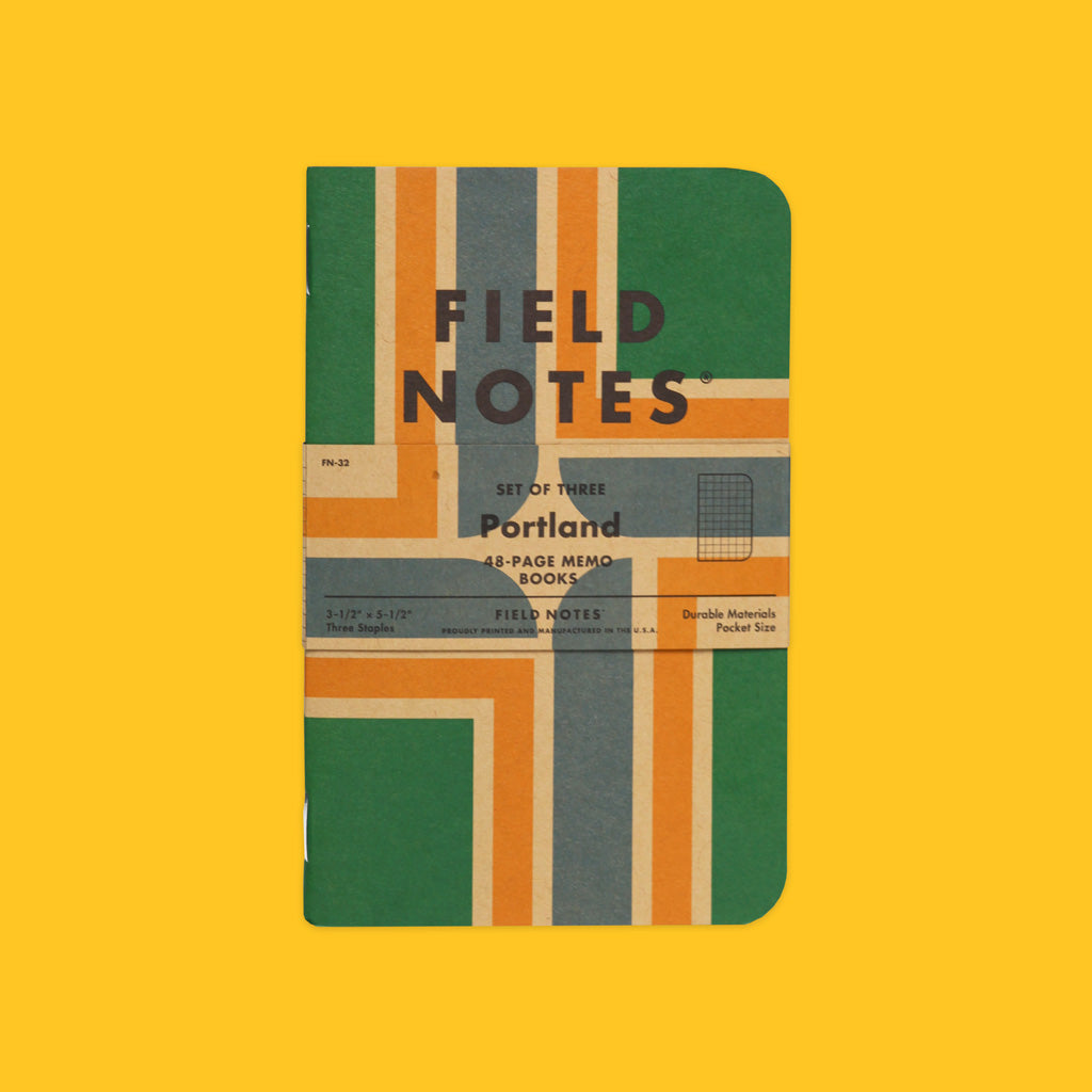 Field Notes Hometown Series Portland Front On