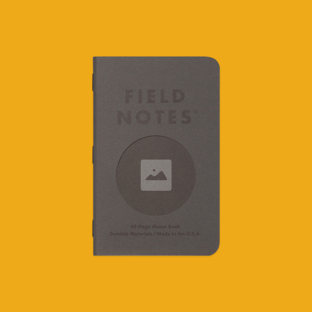 Field Notes Vignette Charcoal Stipple Cover