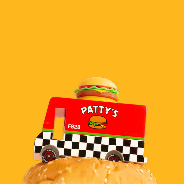Patty's Hamburger Van by Candylab Toys