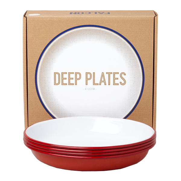Falcon Deep Plate Set