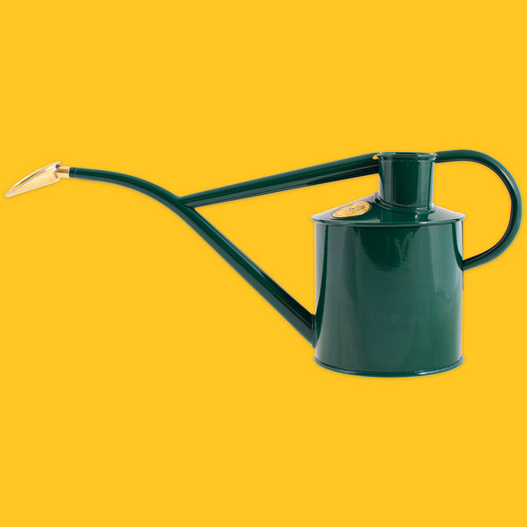 The Rowley Ripple 2 pint indoor watering can in Green
