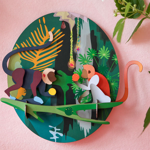 Jungle Animals Plaque