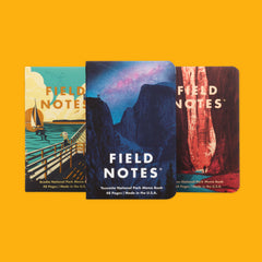 Field Notes National Parks A