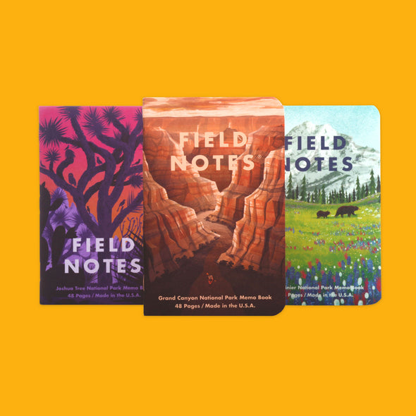 Field Notes National Parks Edition B