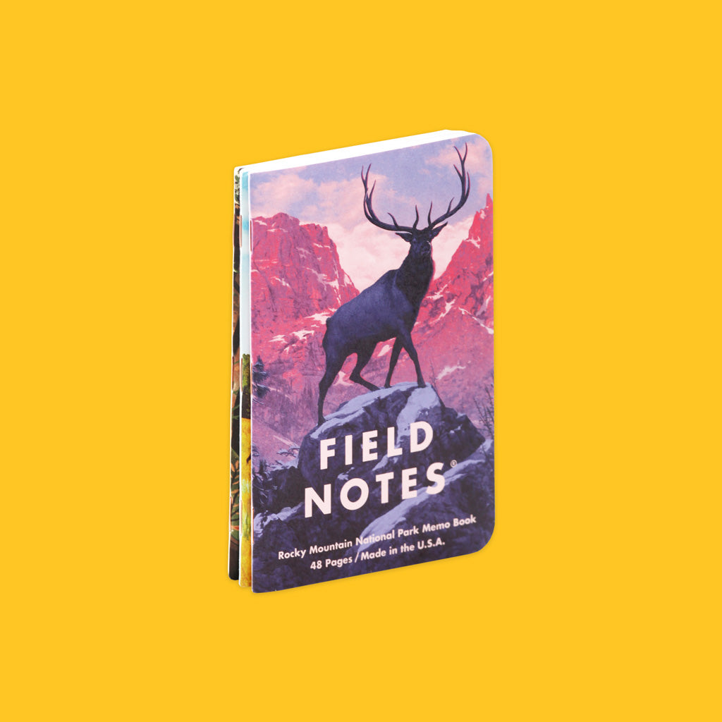Field Notes National Park Series Edition C