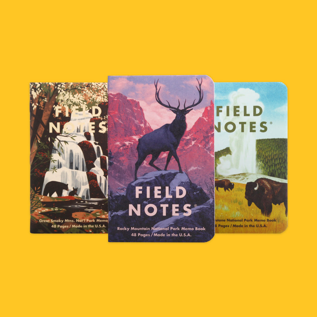 Field Notes National Park Series Edition C Covers