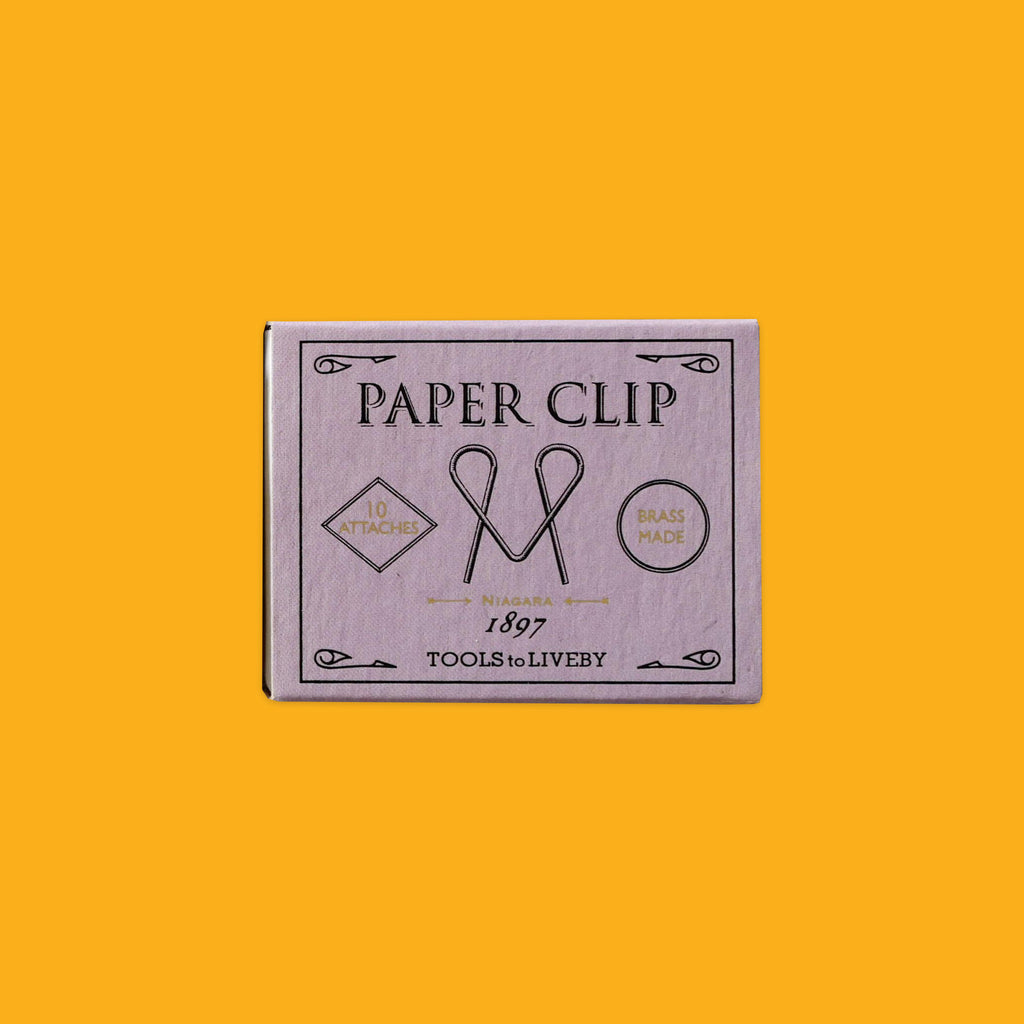 Brass Paper Clips by Tool To Liveby Niagara 1897