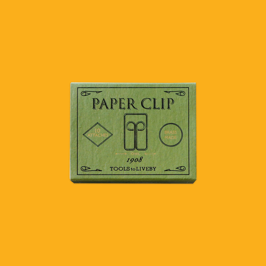 Brass Paper Clips by Tool To Liveby Owl 1908