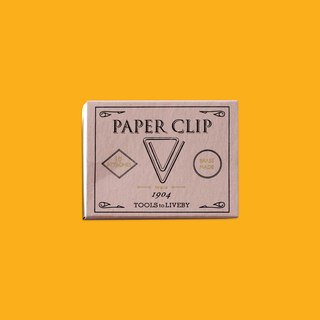 Brass Paper Clips by Tool To Liveby Weis 1904
