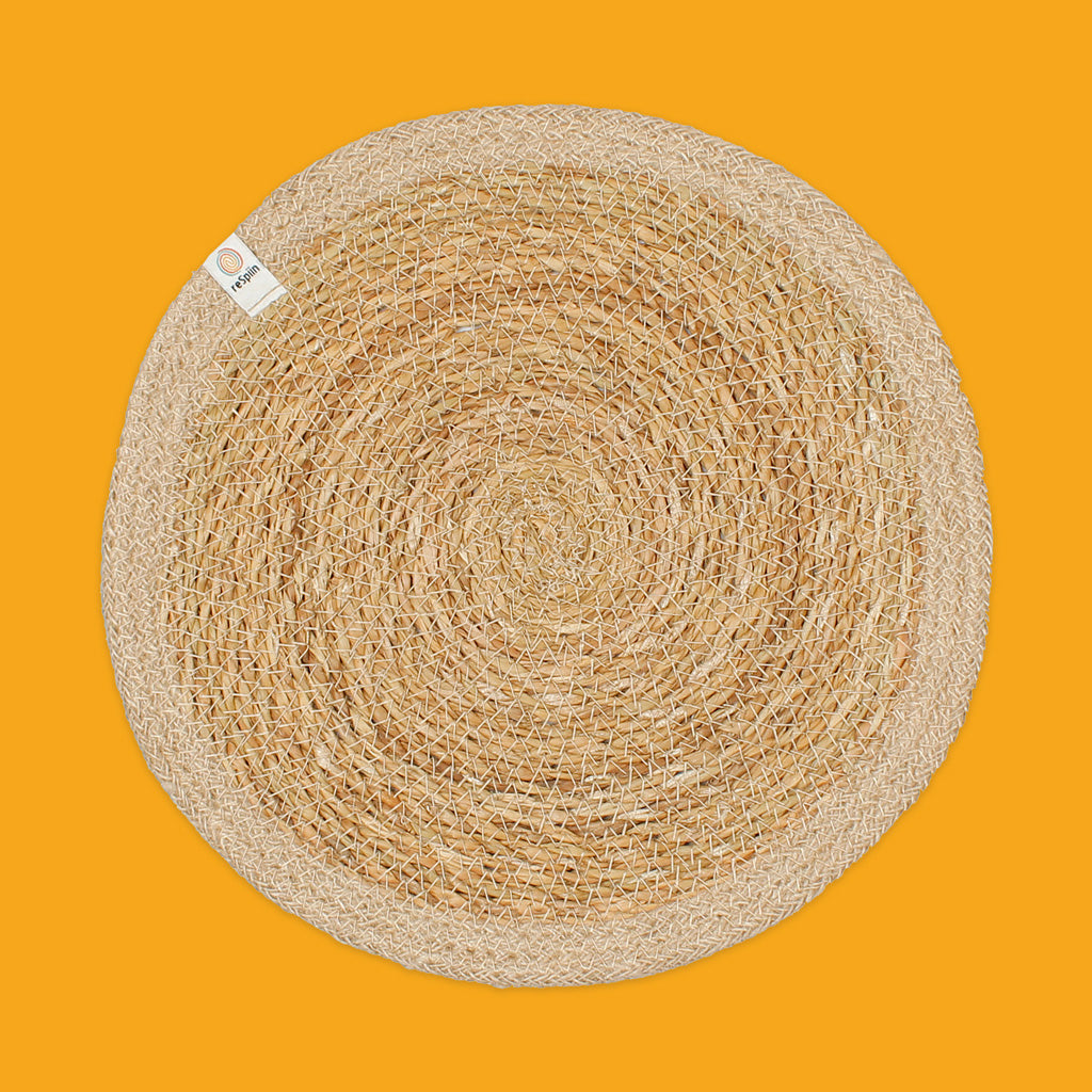 Seagrass & Jute Tablemat in Natural