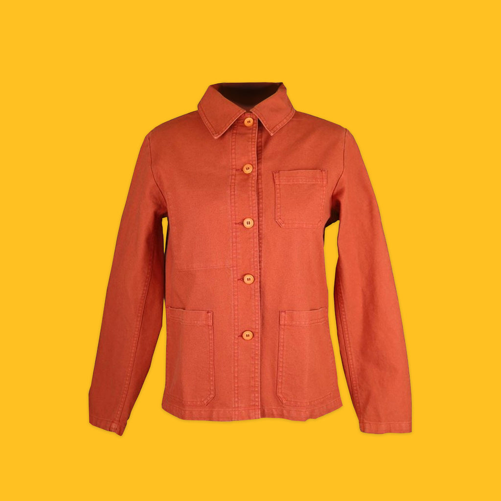 Vetra Workwear Jacket in Quince