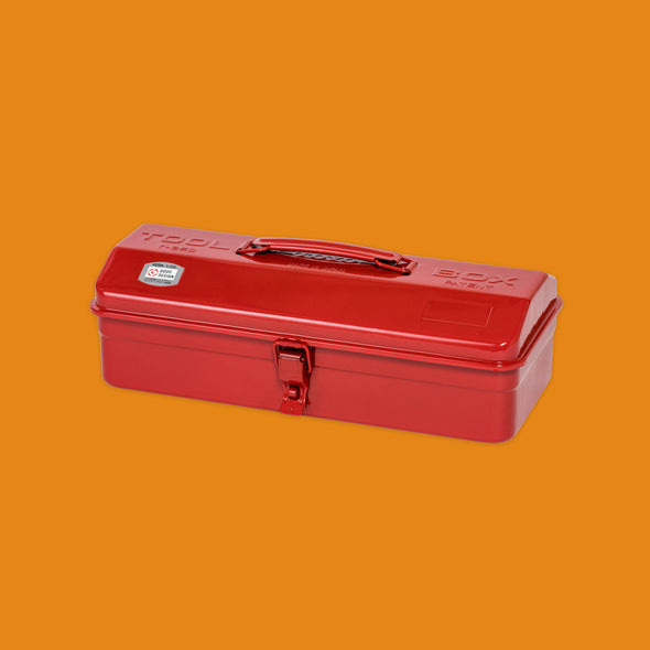 Toyo Steel Co. Tool Box in red