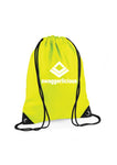 FLUORESCENT YELLOW SWAGGERLICIOUS GYM SACK - swaggerlicious-clothing.com
