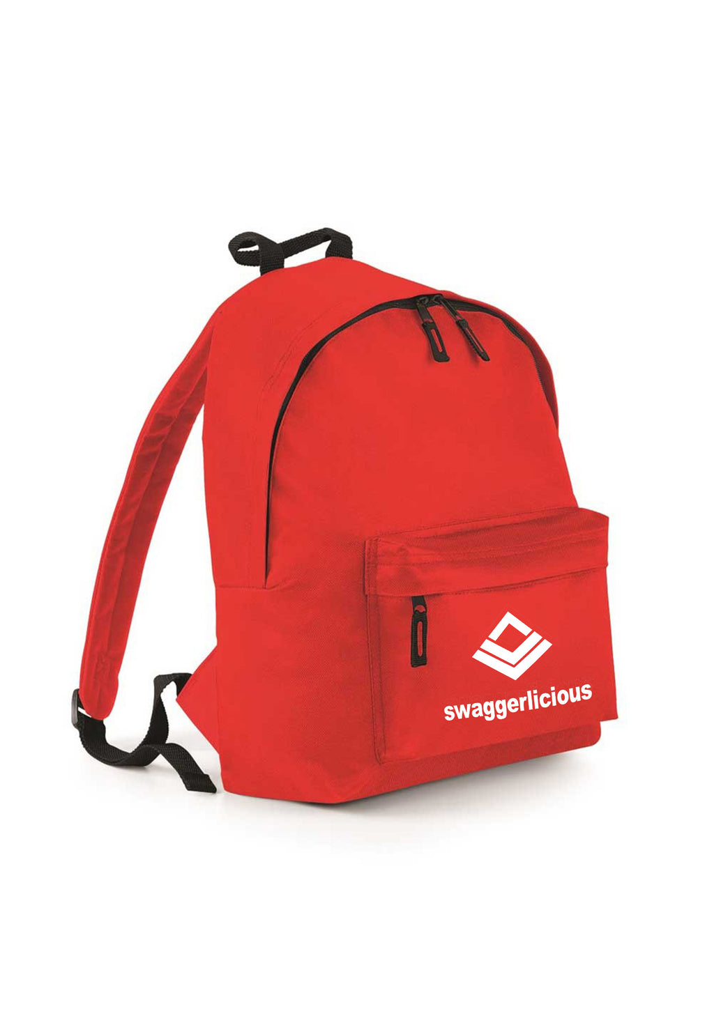Swaggerlicious Bright Red Backpack - swaggerlicious-clothing.com