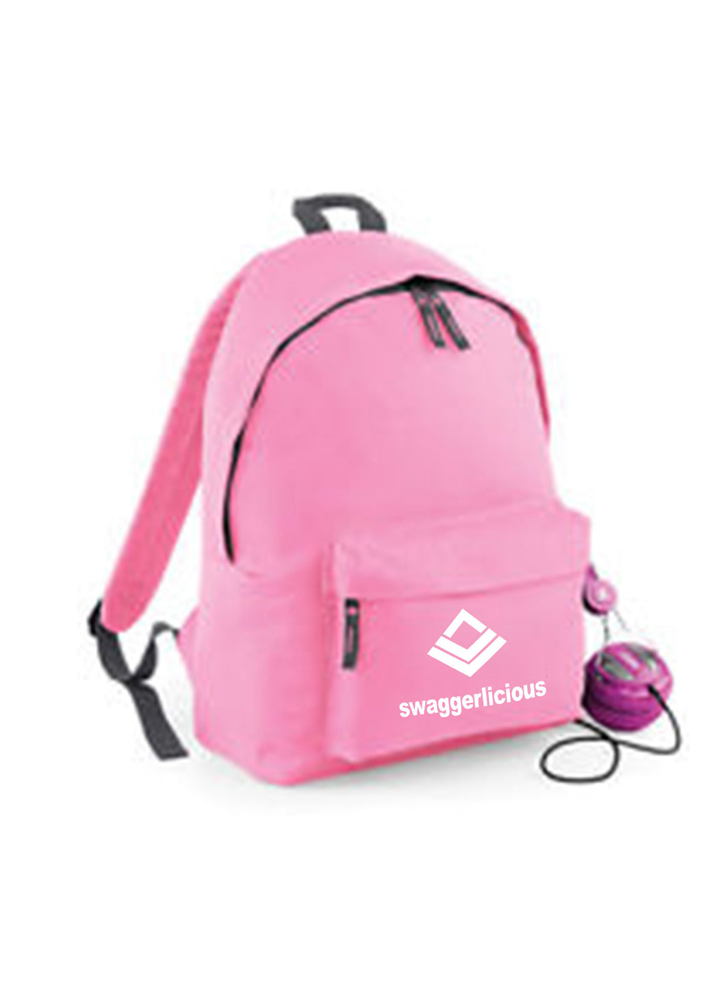 FUCHSIA SWAGGERLICIOUS BACKPACK - swaggerlicious-clothing.com