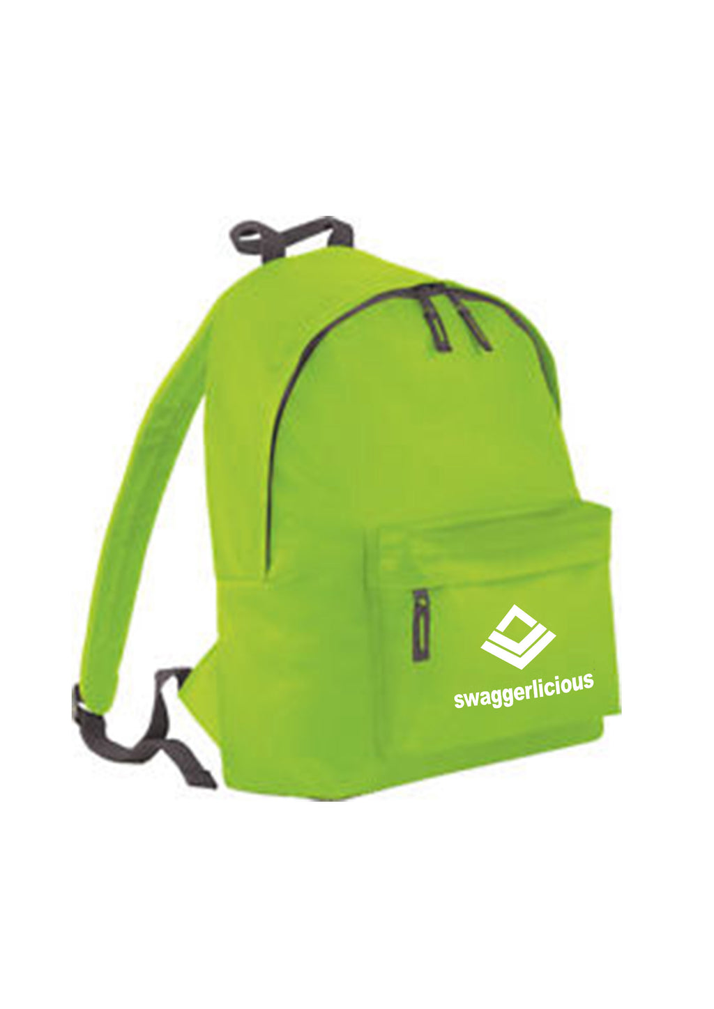 LIME GREEN SWAGGERLICIOUS BACKPACK - swaggerlicious-clothing.com