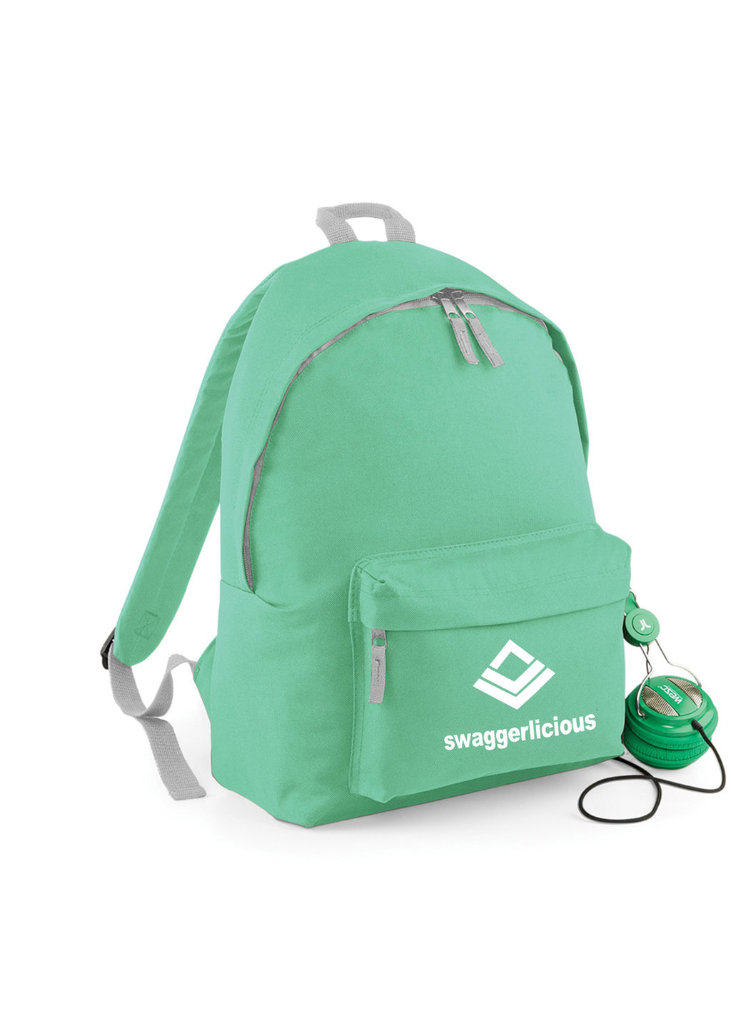 MINT GREEN SWAGGERLICIOUS BACKPACK - swaggerlicious-clothing.com