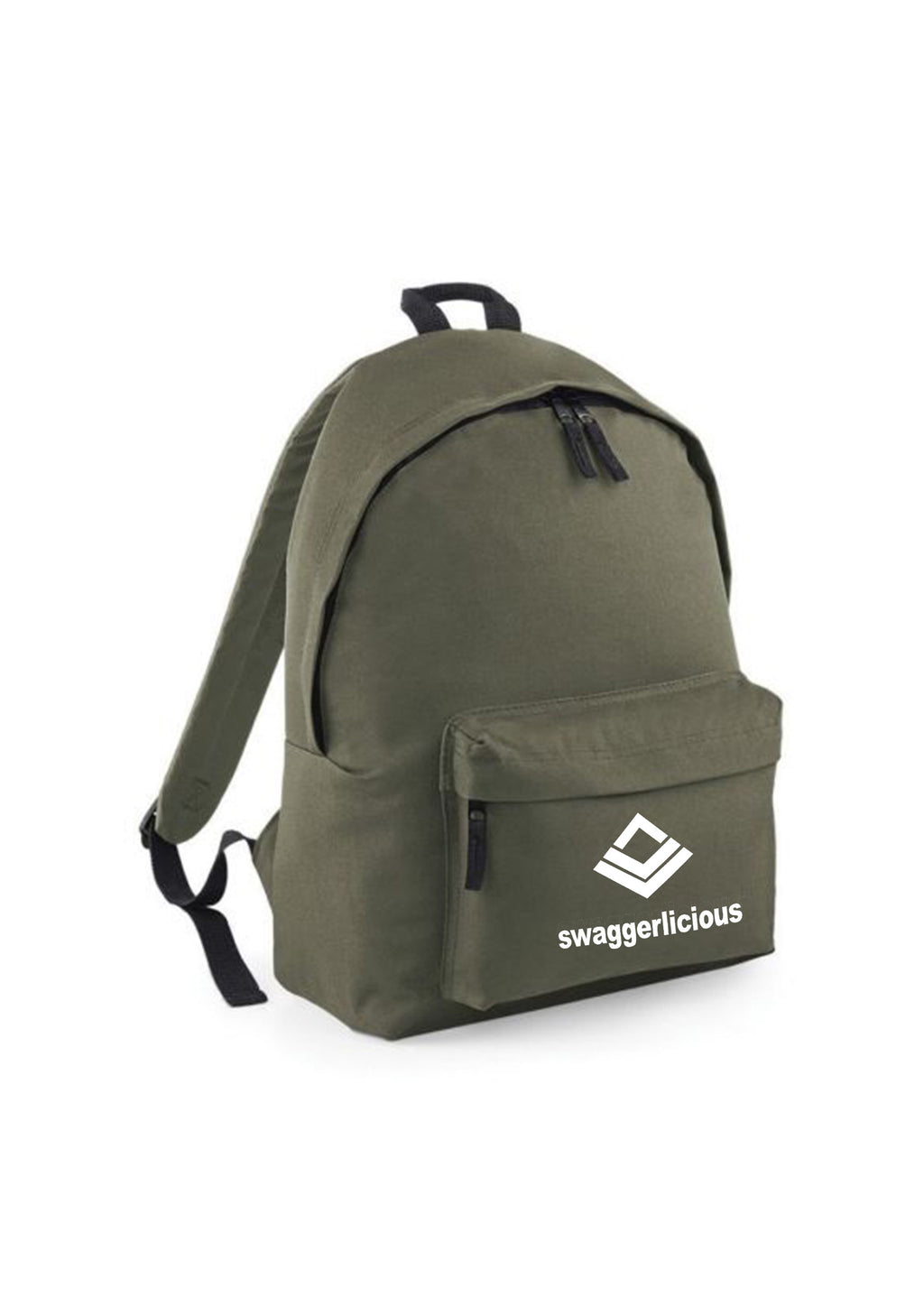 OLIVE GREEN SWAGGERLICIOUS BACKPACK - swaggerlicious-clothing.com