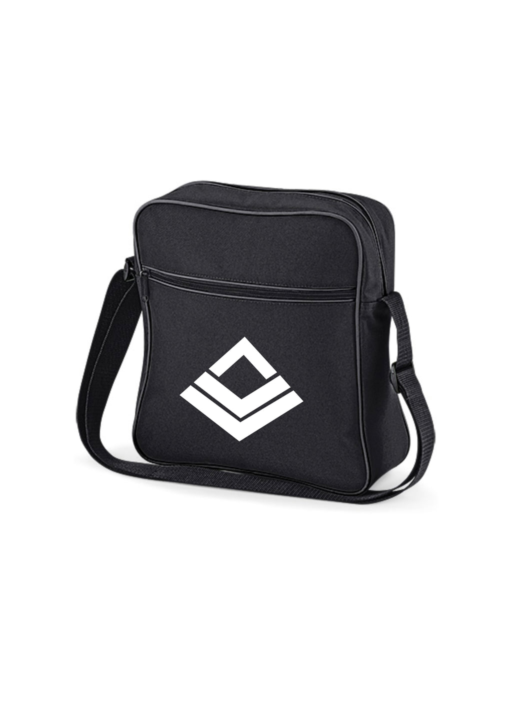 Swaggerlicious Active Black and Graphite Flight Bag - swaggerlicious-clothing.com