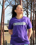 Purple Swaggerlicious Crisp Tee - swaggerlicious-clothing.com