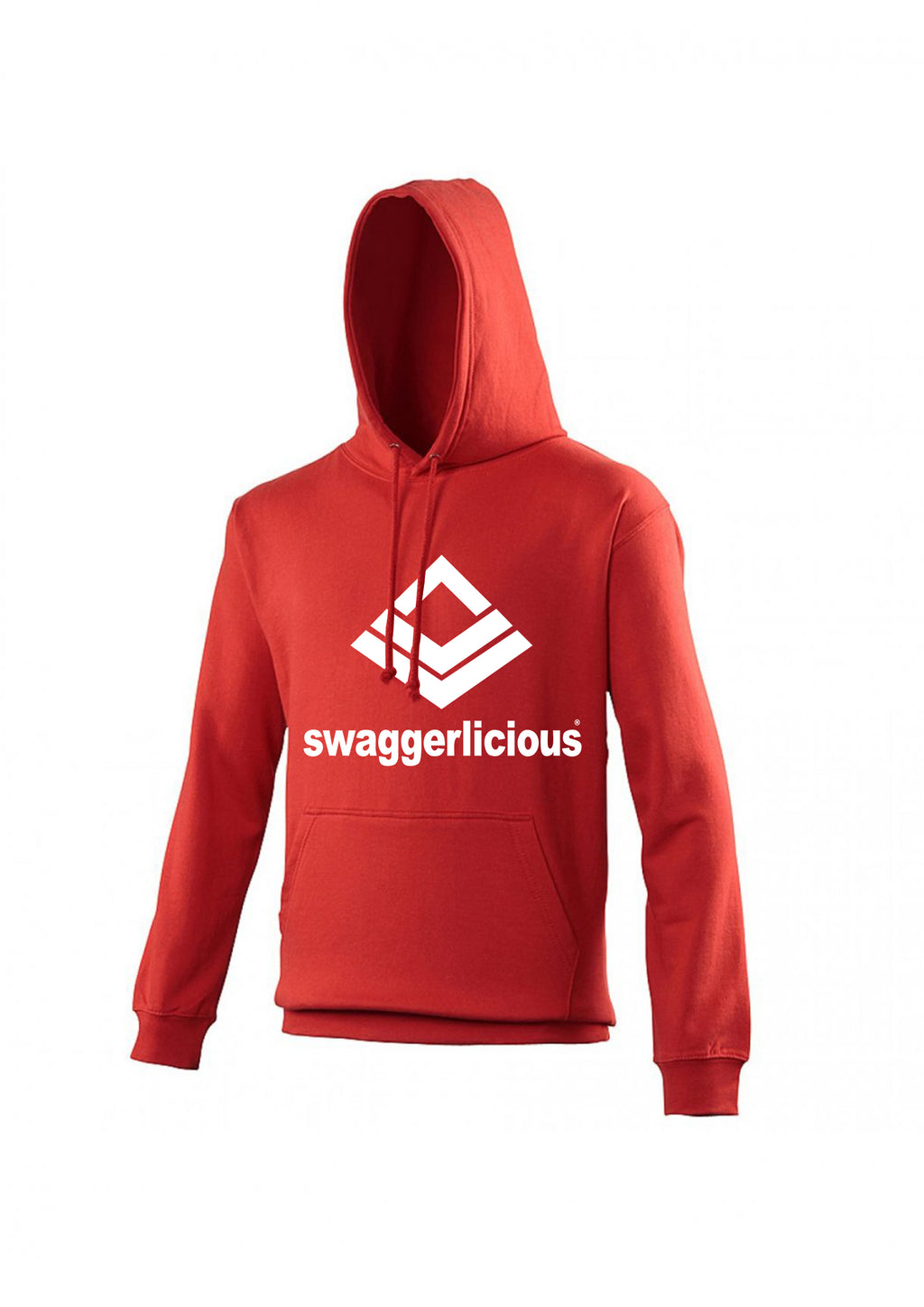 Swaggerlicious Classic Sports Red Hoodie - swaggerlicious-clothing.com