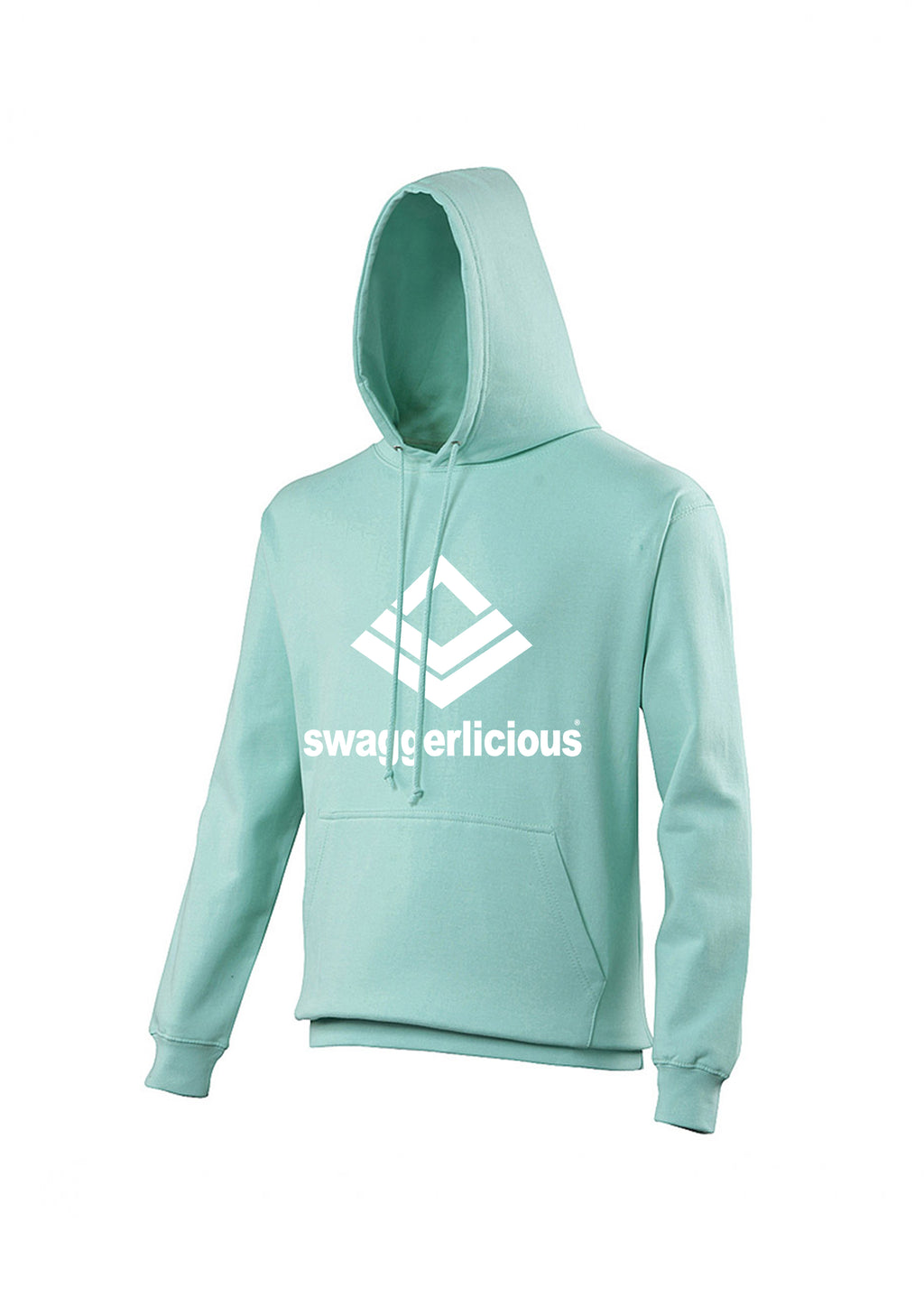 Mint Green Swaggerlicious Classic Sports Hoodie - swaggerlicious-clothing.com